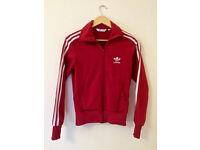 Adidas Original Red Track Top