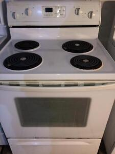Whirlpool Self Cleaning Stove/Range, FREE WARRANTY, Delivery Available