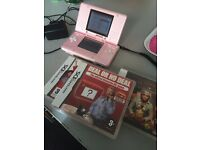 PINK NINTENDO 3 GAMES GOOD CONDITION