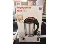 MORPHY RICHARDS SOUP MAKER NEW IN THE BOX🌎🌎