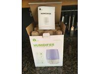 Humidifier Ultrasonic 7 colour LED Cool mist