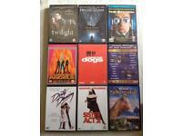 DVDs x 9