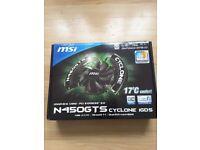 MSI Geforce GTS 450 N450GTS Cyclone 1GB