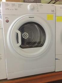 New Graded Hotpoint Vented Dryer 7kg - White