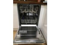 Beko DW603 Fully Integrated Dishwasher 12 place settings - very clean