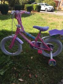 Disney princess bike from Halfords