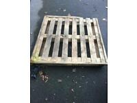 Free pallet for collection from Macclesfield