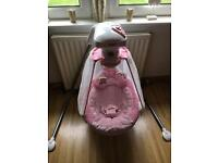 Cradle swing baby chair bouncer