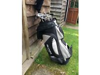 Golf club set and bag