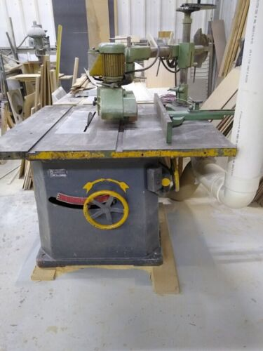 """Table Saw Northfield foundry #4 18"""" with auto feeder"""