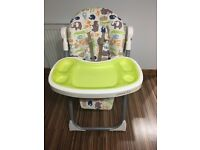 Cossato foldable high chair
