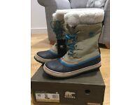Genuine ladies Sorel waterproof boots-UK8, EUR 41