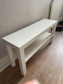 Ikea Lack bench - white