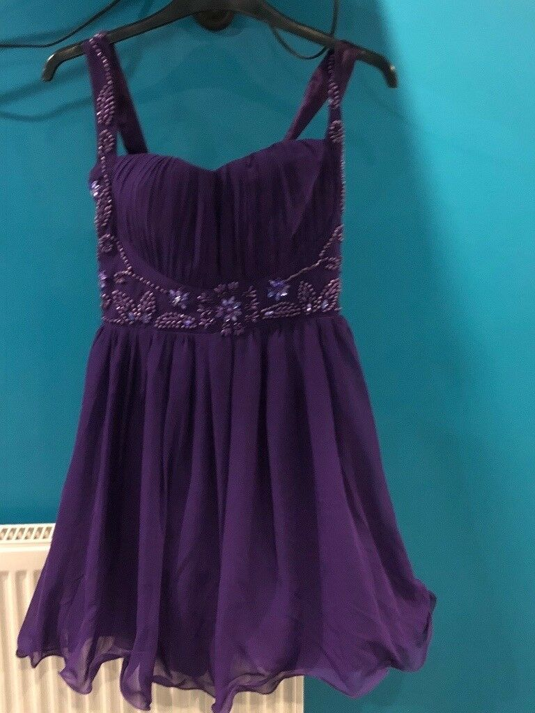 New Look Purple Prom Dress | in Stevenage, Hertfordshire | Gumtree