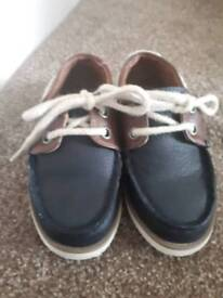 Toddlers boat shoes