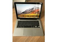 Apple MacBook Pro 13 inch, Late 2011 model, 2.4Ghz i5, 4GB Ram, 500GB HD in great condition