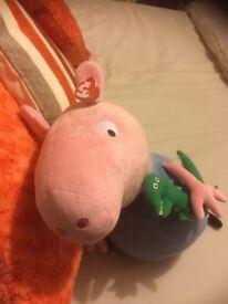 George Pig TY Beanie