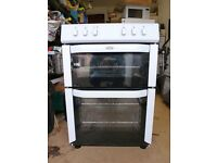 Belling FSE60DO Electric Ceramic Cooker - white - less than 5 months old