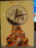 """COLLECTABLE """"ROYAL CANADIAN MINT"""" LORD STANLEY CUP QUARTZ CLOCK"""