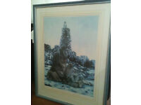 Framed print of Catherine Daniel's 'After the Flood'