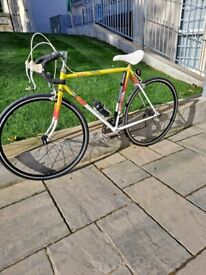 1980's Dawes Mirage racing cycle, hand built with reynolds 500 cr mo tubing.
