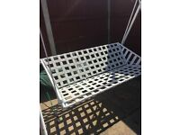 Garden seat swing, 3 seater With rain cover