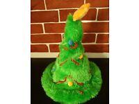 Christmas singing dancing hat