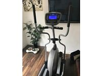 Vision Fitness X1500 Elliptical Cross Trainer with Premier Console and Transmitter Belt