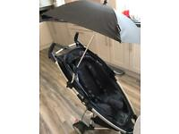 Quinny Zapp Stroller with parasol in great condition