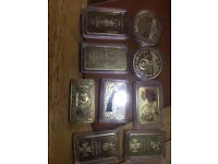 Gold & silver bulion and mixed vintage coin collection
