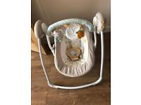 Bright stars baby swing chair