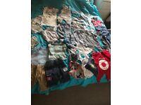 Big bundle of boy clothes 3-6 months!!