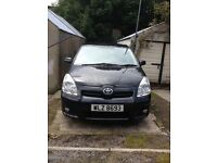 2007 Toyota Verso 2.2 d-4d 6 speed manual