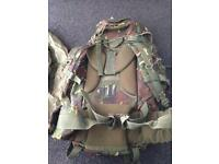 Pro force 66l camouflage fishing camping army Bergen