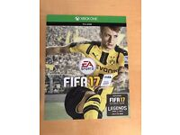 Fifa 17 Full Game & 3 loan legends pack ,1 month xbox live trial ! price stands , no offers !
