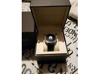 SmartWatch Huawei 4gb - Leather Strap - Good as new (USED) with Box & Instructions