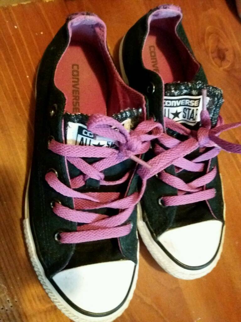 Converse pumps size 2
