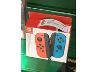 Nintendo Switch joy-con pair controllers boxed