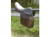 Brown saddle 17