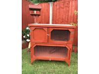 Rabbit&guinea pig hutch