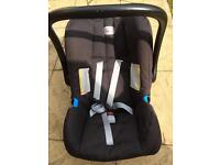 Britax car seat (with Isofix) Group 0+ up to 13kg