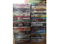 Bundle job lot of 67 dvds
