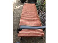 8x Garden Furniture Cushion for 2/3 Seater Bench
