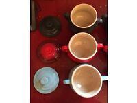 6 le cruset soup bowls