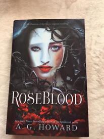 RoseBlood by A.G.Howard