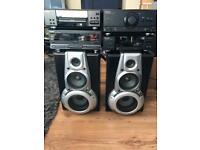 Technics Retro ch530 4 piece hifi with Speakers