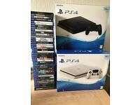 Brand new and second user PS4 500GB 1TB all with warranty and receipt from £145 games from£5