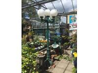 8ft cast aliminium lamp post