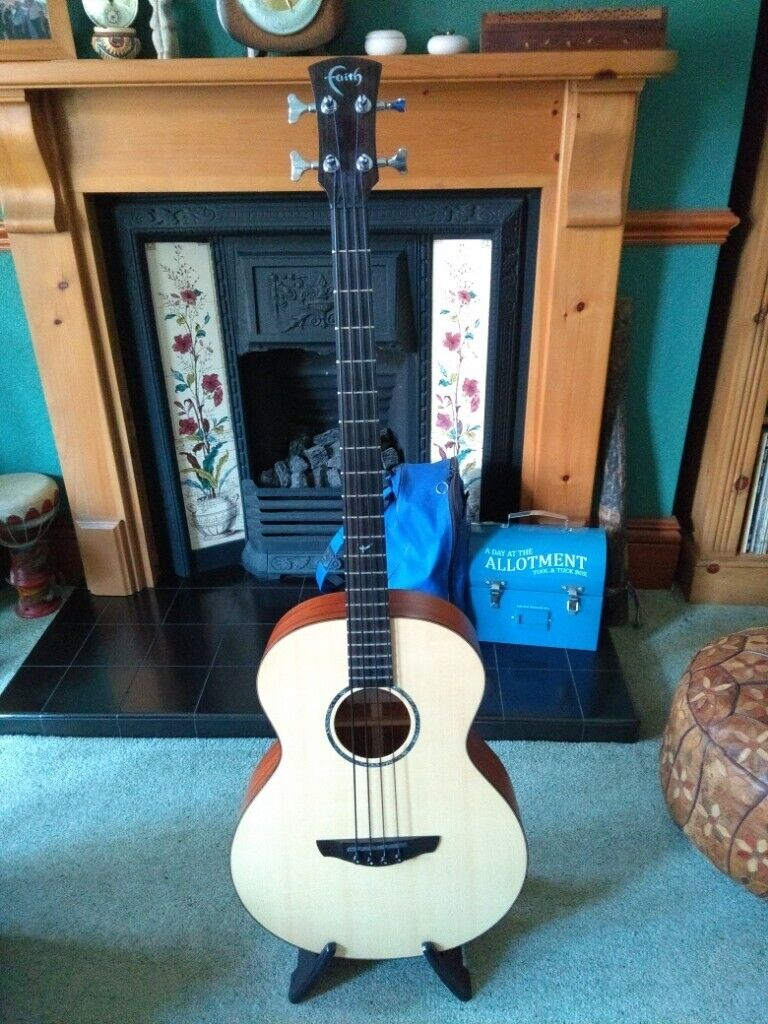 Acoustic Bass Guitar  Faith Titan Neptune Electro Acoustic Bass   in  Kettering, Northamptonshire   Gumtree