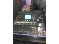Tascam dm24 digital mixer+flght case